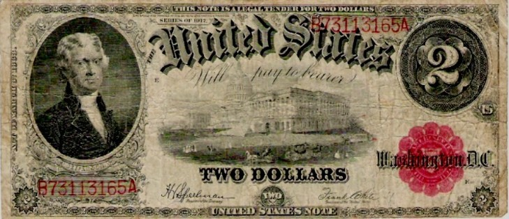 History of U S  Currency - Introduction of Greenbacks